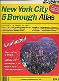 img - for Hagstrom New York City 5 Borough Atlas: Laminated (Hagstrom New York City Five Borough Atlas (Laminated)) book / textbook / text book