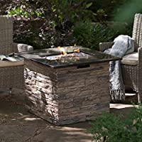 Red Ember Coronado Gas Fire Pit Table wi...