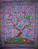 Tree of Life Tapestry-Bedspread-Coverlet-Beautiful