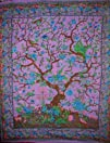 Tree of Life Tapestry-Bedspread-Cover…