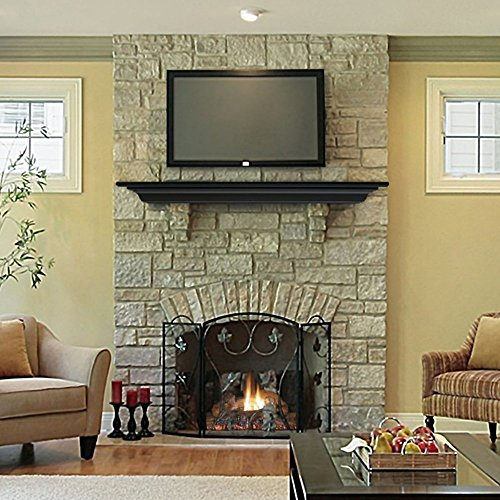 Pearl Mantels Crestwood Transitional Fireplace Mantel Shelf (Crestwood Fireplace compare prices)