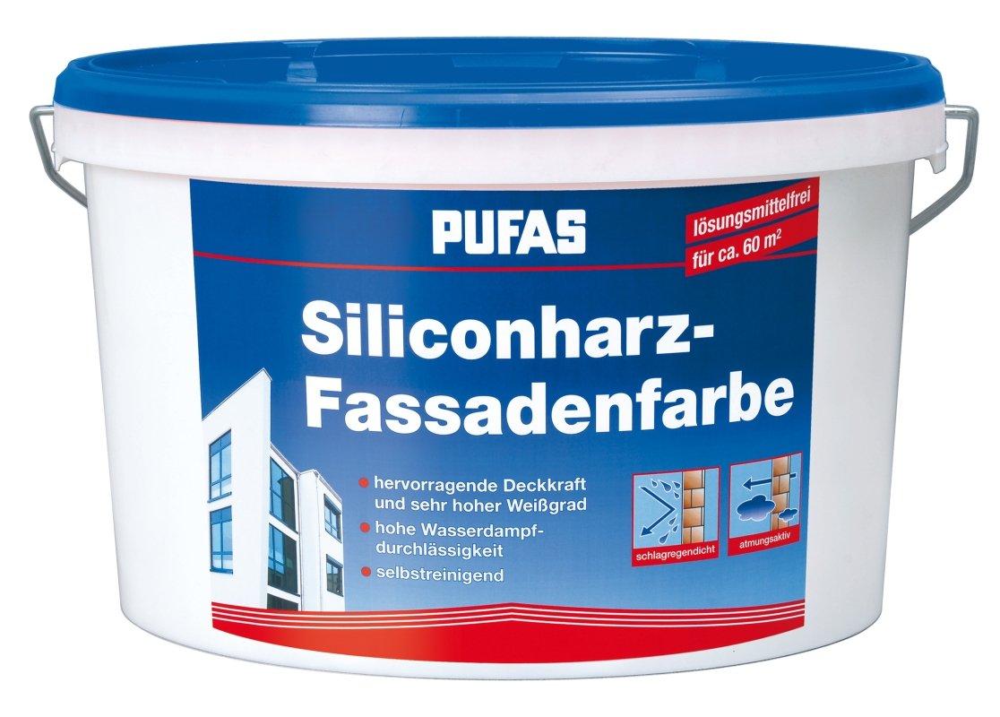 Pufas SiliconharzFassadenfarbe Abperleffekt 10L SilikonharzFassadenAnstrich  GartenKundenbewertung und weitere Informationen
