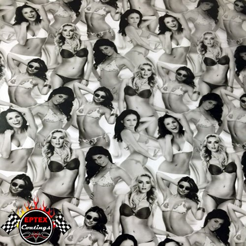 Hydrographics Film - Water Transfer Printing Film - Bikini Babes - 10ft Film Roll (Water Transfer Printing Tank compare prices)