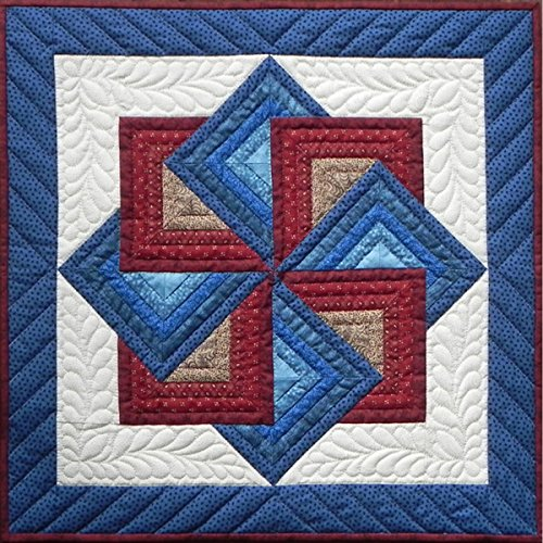 Rachel's of Greenfield Starspin Wall Quilt Kit, 22-Inch x 22-Inch (Rachel Quilted Bedding compare prices)
