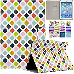 iPad Mini Case, Dteck(TM) Ultra Slim [Unique Design] PU Leather Flip Folio Smart Stand Case Cover with [Auto Wake/Sleep Function] for Apple iPad Mini 3 2 1 (01Lantern-Colorful)