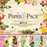 Eno Greeting Size 12x12 Inch 12 Design 24 Sheet Patterned Paper / Craft Paper PS 007 (FLOWERS)
