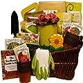 The Gourmet Gardener Gift Gift Basket of Useful Garden Tools and Treats