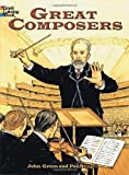 Great Composers (Dover History Coloring Book)