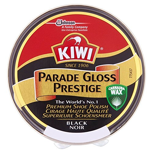 Kiwi Parade Gloss Prestige Shoe Polish Black (50ml) キウイパレードグロスプレステージ靴クリーム黒( 50ミリリットル)