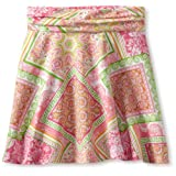 KC Parker Big Girls' Printed Jersey Skirt