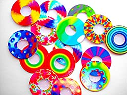 Rainbow Symphony Diffraction Grating - Rainbow Peepholes, Package of 50