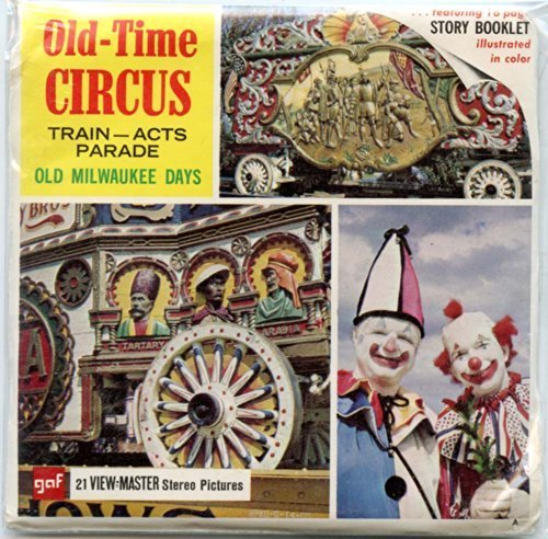 classic-viewmaster-old-time-circus-train-acts-parade-old-milwaukee-days-viewmaster-reels-3d-unsold-s
