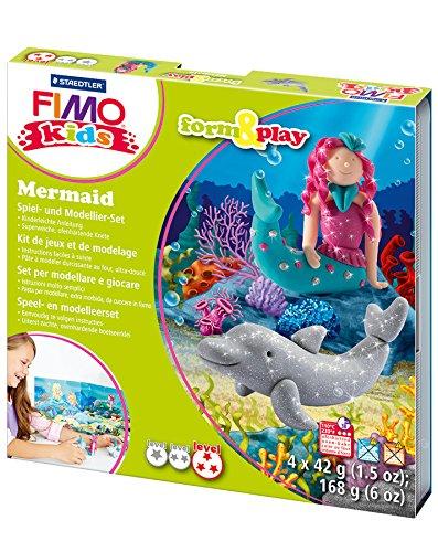 Original FIMO kids form play per creare pasta da modellare sirena 4 x 42 G PDF