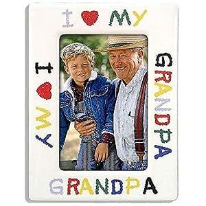 Amazon Com Malden I Love My Grandpa Photo Frame 4 X 6