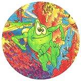 DREAM FM CARTOON FLYER SLIPMAT x 1 (Single) - Record DJ Vinyl deejay Deck ep lp Mat 12