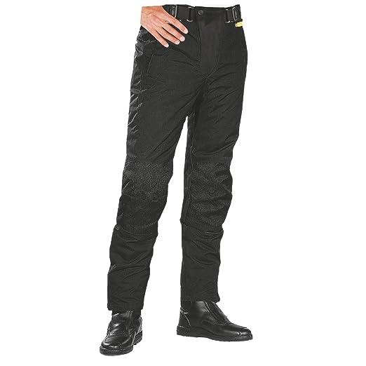 Roleff Racewear 451XXL Pantalon Moto Textile, Noir, XXL
