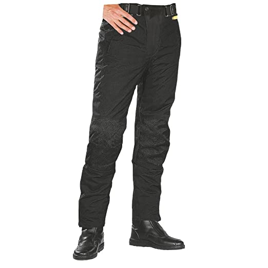 Roleff Racewear 451KXXL Pantalon Moto Textile, Noir, KXXL
