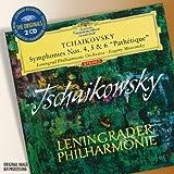 """Tchaikovsky: Symphonies Nos.4, 5 & 6 """"Pathetique"""" (DG The Originals)by Leningrad Philharmonic..."""