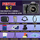 Pentax K-7 Digital SLR with Pentax 18-55mm Lens +