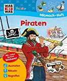 Mitmach-Heft Piraten: Bunte Rätsel und Sticker
