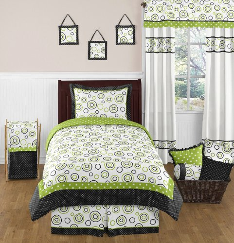 Lime Green Kids Bedding front-139291