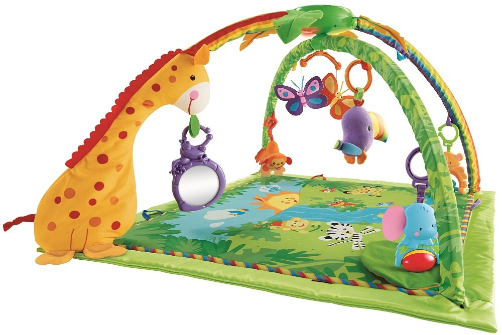 Fisher-Price K4562 Melodies and Lights Deluxe Gym