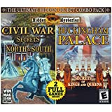 Hidden Mysteries Civil War- Secrets of the North and South/ Bukingham Palace Combo Pack