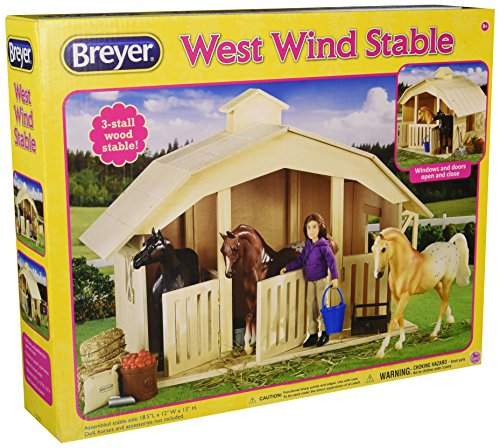 Breyer West Wind Stable Toy (Breyer Classic Stable compare prices)