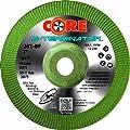 "CoreTemp 20575 Type 27 A36T S-Terminator Abrasive Ultra Stainless Grinding Wheel, 8500 RPM, 7"" Diameter x 3/16"" Width, 7/8"" Arbor  (Pack of 1)"