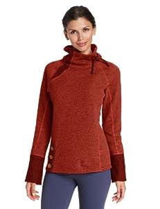 prAna Women's Lucia Sweater, Picante, X-Small