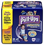 Pull-Ups Training Pants, Nighttime, Boys, 3T-4T, 48 Count