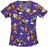 Scooby Doo Scrub Top: Psycha-Scooby (XS)