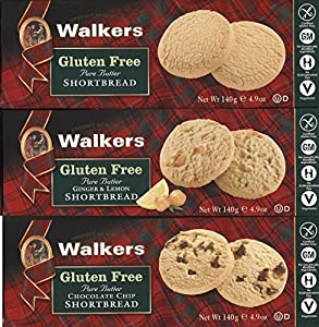 Gluten Free Pure Butter Shortbread Bundle of 3 Boxes: Shortbread ...
