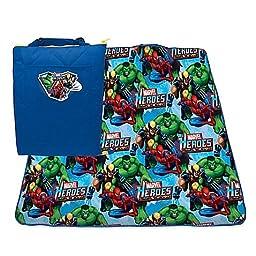 Marvel Heroes Zip Up Activity Mat, 60x40
