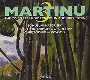 Martinu: Complete Music for Violin & Orchestra Vol. 3