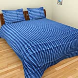 Portico Stellar Home USA Double Bedsheet with 2 Pillow Covers