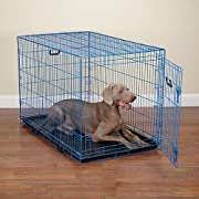 Crate Appeal Blue Color Dog Crate