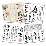 Bg Body Graphics Temporary Tattoo Orchid Pavilion Preface of Chnmuseum Series