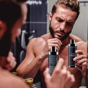 Beard Growth Shampoo and Conditioner Set - Best Organic Face
