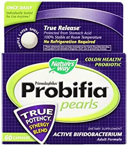 Nature's Way Primadophilus Probifia Pearls, 60 Count