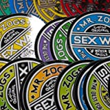 "Sex Wax Sticker. Pack of 2 Asst 3"" Stickers"