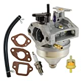 Fuerdi GCV160 Carburetor for Honda GCV160A GCV160LA GCV160LAO Engines Replacement 16100-Z0L-853 Carb with Gasket Spark Plug Kit