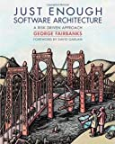 Cover of 'Just Enough Software Architecture'
