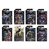 Hot Wheels, Batman V Superman: Dawn of Justice Bundle of 8 Die-Cast Cars (Color: Multi Color)