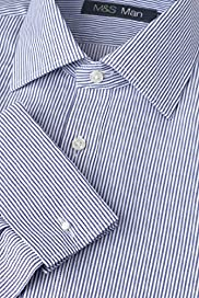 Dri-Guard&#8482; Pure Cotton Classic Collar Bengal Striped Shirt