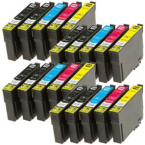 TiSa 20x  für T1631  T1634  refill Tintenpatronen für Epson Picture