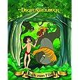 Disney: Dschungelbuch mit Kippbild: Buch zum Film