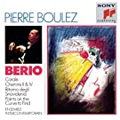 Berio: Chemins II & Chemins IV; Points on the Curve to Find