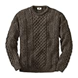 Black Sheep Irish Fisherman Jumper, Large