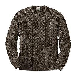 Orvis Black Sheep Irish Fisherman\'s Sweater